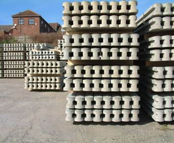Precast Concrete Fencing Posts
