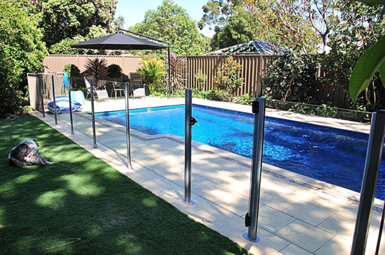 Pool Safety Fences - Keeping Your Summer Safe 1 - Semi-Frameless Glass Fencing